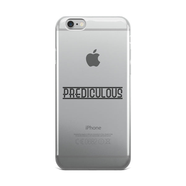 Official Prediculous Logo iPhone 5/5s/Se, 6/6s, 6/6s Plus Case