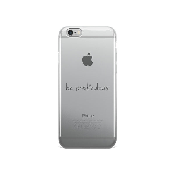 Be Prediculous with Heart iPhone 5/5s/Se, 6/6s, 6/6s Plus Case