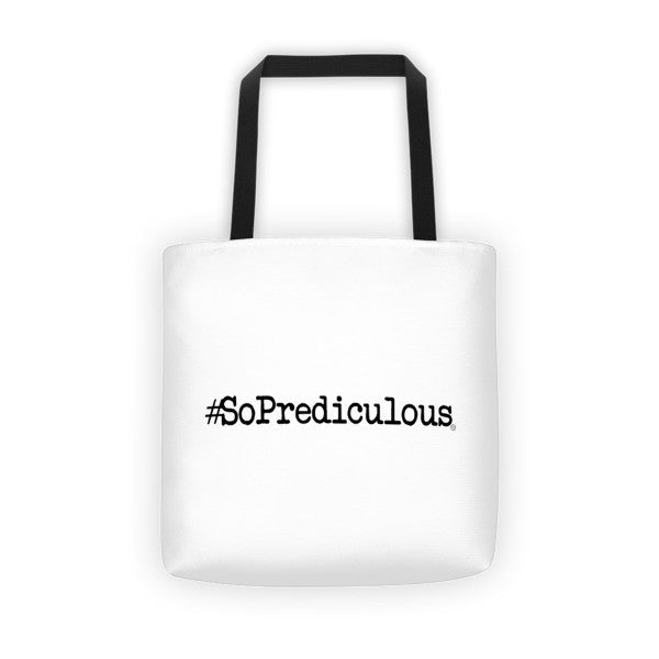 #SoPrediculous Tote bag