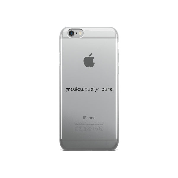Prediculously Cute iPhone 5/5s/Se, 6/6s, 6/6s Plus Case