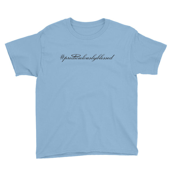 #PrediculouslyBlessed Youth Short Sleeve T-Shirt