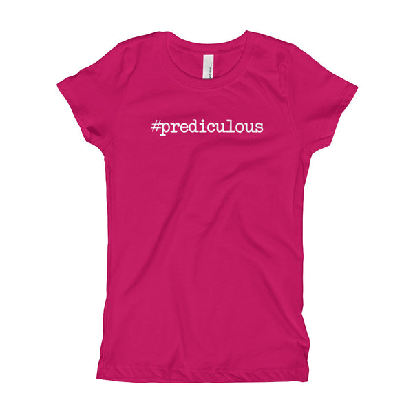 #Prediculous Girl's T-Shirt