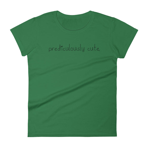 Prediculously Cute with Heart Women's short sleeve t-shirt