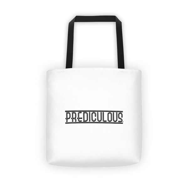 Official Prediculous Logo Tote bag
