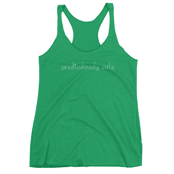 Prediculously Cute with Heart Women's tank top