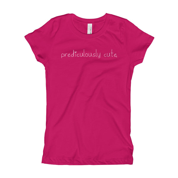 Prediculously Cute with Heart Girl's T-Shirt