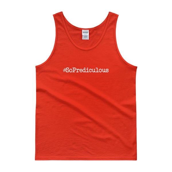 #SoPrediculous Men's Tank top