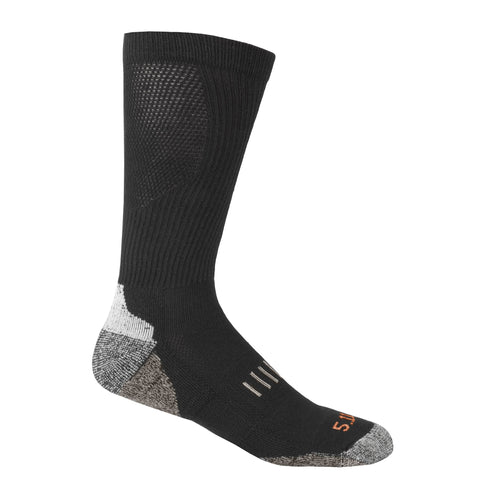 5.11 TACTICAL YEAR ROUND OTC SOCK BLACK L/XL