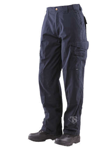 TRU-SPEC MEN'S 24-7 RIPSTOP TACTICAL PANTS DARK NAVY 54xUnhemmed