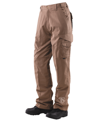 TRU-SPEC MEN'S 24-7 RIPSTOP TACTICAL PANTS COYOTE 54xUnhemmed