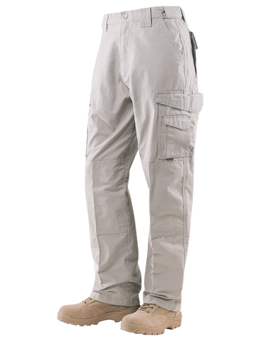 TRU-SPEC MEN'S 24-7 RIPSTOP TACTICAL PANTS STONE 54xUnhemmed