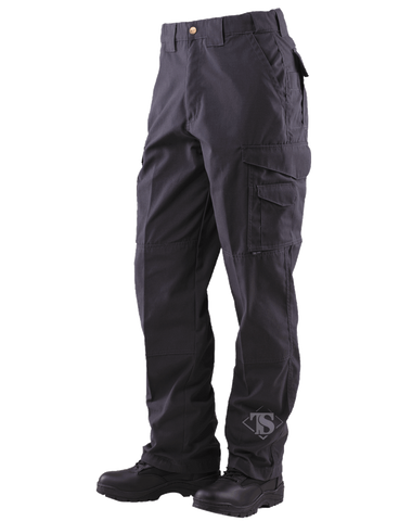 TRU-SPEC MEN'S 24-7 RIPSTOP TACTICAL PANTS BLACK 54xUnhemmed