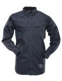 TRU-SPEC MEN'S 24-7 LONG SLEEVE FIELD SHIRT NAVY 3XL LONG