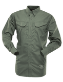 TRU-SPEC MEN'S 24-7 LONG SLEEVE FIELD SHIRT OD 3XL LONG