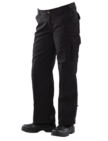 TRU-SPEC LADIES 24-7 EMS PANTS BLACK 24XUNHEMMED