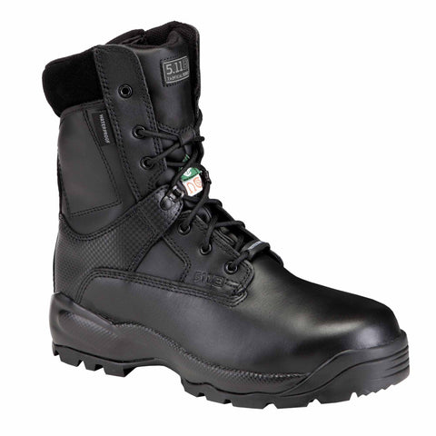"5.11 TACTICAL ATAC SHIELD 8"" BOOT BLACK 15 REGULAR"
