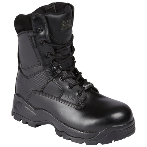 "5.11 TACTICAL WOMENS ATAC 8"" SHIELD BOOT BLACK 10 REGULAR"