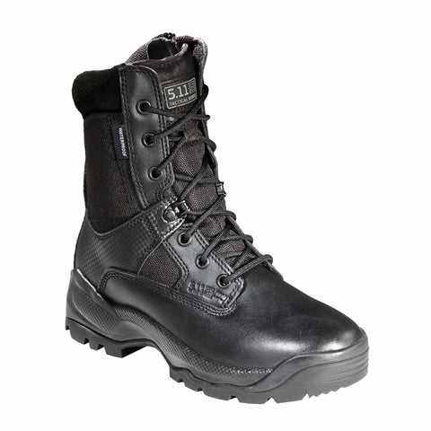 "5.11 TACTICAL WOMENS ATAC 8"" STORM BLACK 10 REGULAR"