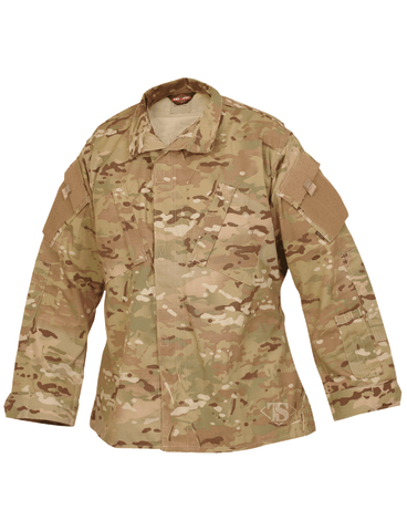 TRU-SPEC CORDURA RIPSTOP TACTICAL RESPONSE UNIFORM SHIRT MULTICAM XL SHORT