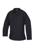 TRU SPEC LIGHTWEIGHT POLY COTTON RIPSTOP CLASSIC BDU COAT NAVY 3XL LONG