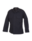 TRU SPEC LIGHTWEIGHT POLY COTTON RIPSTOP TACTICAL LONG SLEEVE SHIRT NAVY 3XL LONG