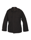 TRU SPEC LIGHTWEIGHT POLY COTTON RIPSTOP TACTICAL LONG SLEEVE SHIRT BLACK 3XL LONG