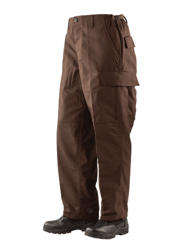 TRU-SPEC P/C RIPSTOP CLASSIC BDU PANTS BROWN XL SHORT