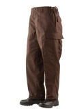 TRU-SPEC ZIPPER FLY POLICE BDU PANTS BROWN XL SHORT