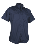 TRU-SPEC MEN'S 24-7 SHORT SLEEVE DRESS SHIRT NAVY 4XL REGULAR