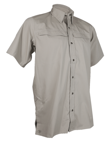 TRU-SPEC MEN'S 24-7 PINNACLE SHORT SLEEVE SHIRT KHAKI 3XL