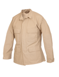 TRU SPEC COTTON RIPSTOP CLASSIC BDU COAT KHAKI 3XL LONG