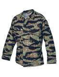 TRU SPEC COTTON RIPSTOP CLASSIC BDU COAT ORIGINAL VIETNAM TIGER STRIPE 2XL LONG