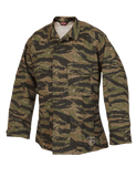 TRU SPEC COTTON POLY TWILL CLASSIC BDU COAT VIETNAM TIGER STRIPE 3XL LONG