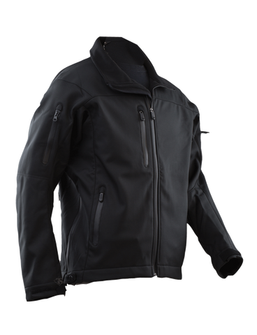 TRU SPEC 24-7 LE SOFTSHELL JACKET BLACK 5XL SHORT