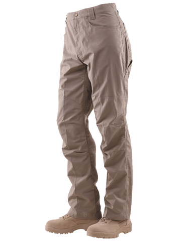 TRU-SPEC MEN'S 24-7 ECLIPSE RIPSTOP TACTICAL PANTS KHAKI 35x30