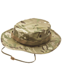 TRU SPEC MIL-SPEC POLY COTTON RIPSTOP WIDE BRIM BOONIE HAT MULTICAM 7.75