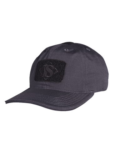 TRU SPEC LIGHTWEIGHT RIPSTOP CONTRACTOR CAP BLACK OSFA