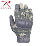 Rothco Flame and Heat Resistant Hard Knuckle Tactical Gloves ACU Digital Camo XL