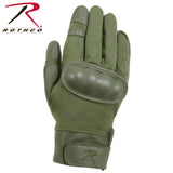 Rothco Flame and Heat Resistant Hard Knuckle Tactical Gloves Olive Drab XL