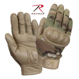 Rothco Flame and Heat Resistant Hard Knuckle Tactical Gloves MultiCam 2XL