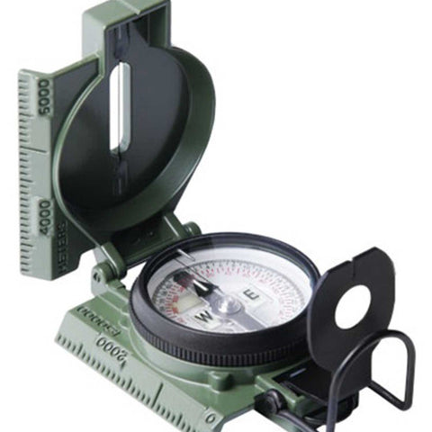 Cammenga G.I. Military Phosphorescent Lensatic Compass (Model#27) Olive Drab