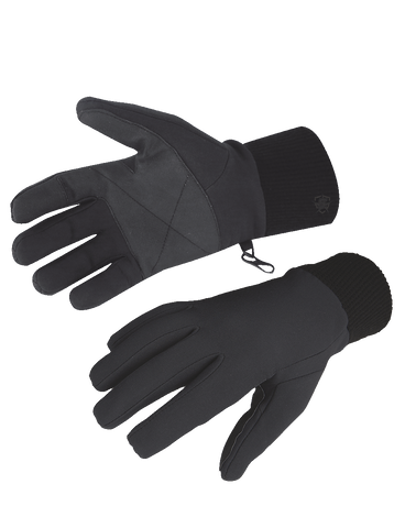 5IVE STAR GEAR PERFORMANCE SOFTSHELL GLOVES BLACK 2XL