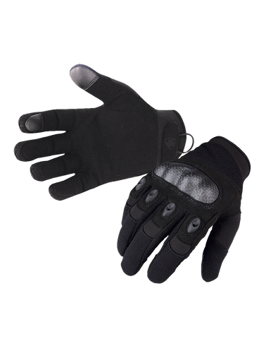 5IVE STAR GEAR TACTICAL HARD KNUCKLE GLOVES BLACK 2XL