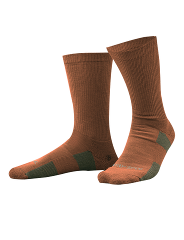 "TRU SPEC TACTICAL 9"" PERFORMANCE SOCKS COYOTE XL"