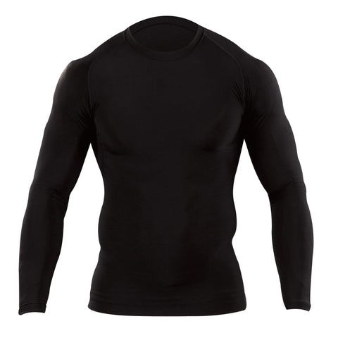 5.11 TACTICAL TIGHT CREW L/S BLACK 2XL
