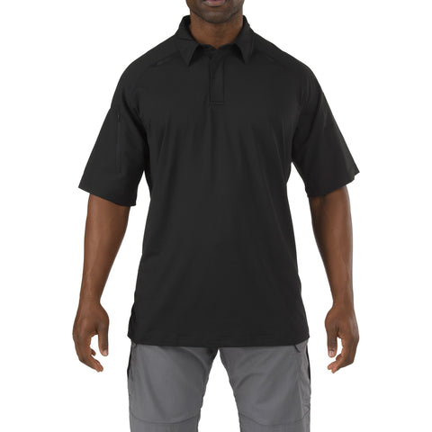 5.11 TACTICAL S/S RAPID PERFORMNCE POLO BLACK 3XL