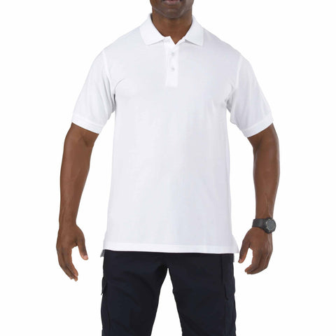 5.11 TACTICAL PROFESSIONAL S/S POLO WHITE 3XL