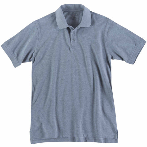 5.11 TACTICAL PROFESSIONAL S/S POLO TALL HEATHER GREY 5XL