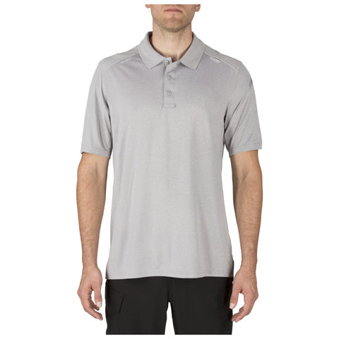 5.11 TACTICAL S/S HELIOS POLO HEATHER GREY 3XL