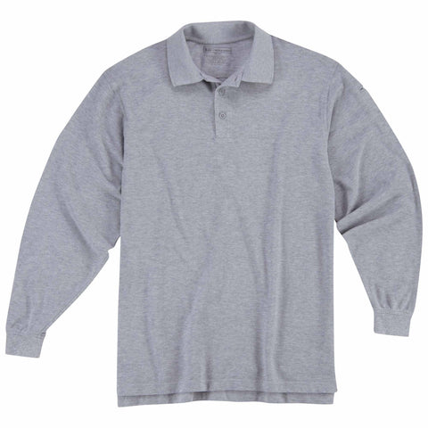 5.11 TACTICAL PROFESSIONAL L/S POLO TALL HEATHER GREY 5XL